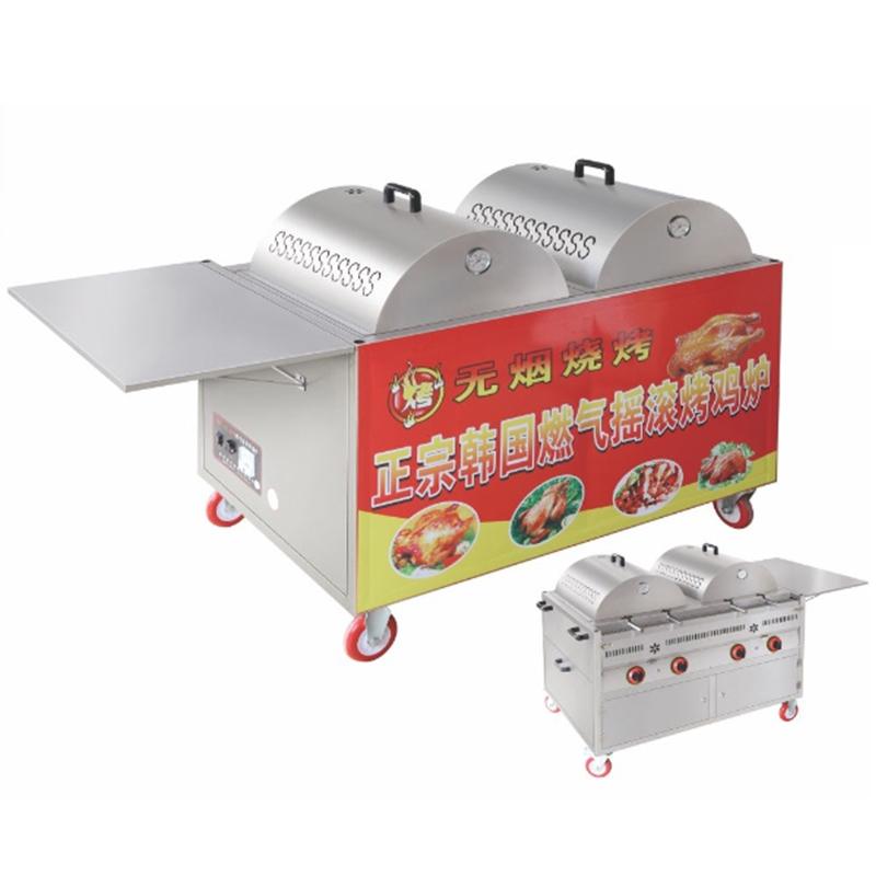 燃气韩式烤鸡炉CY-4