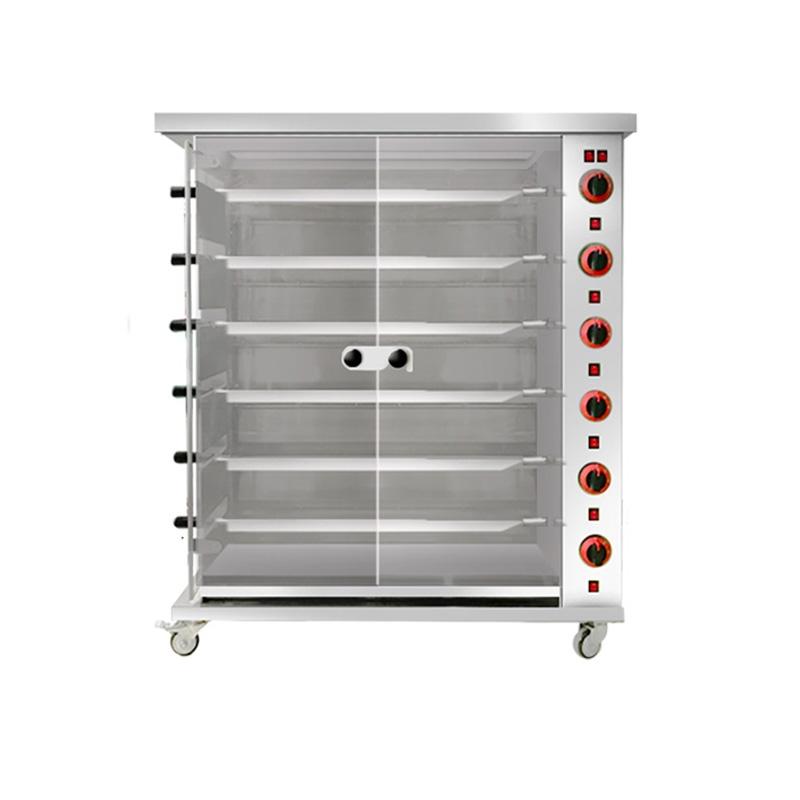 6P-燃气烤鸡炉